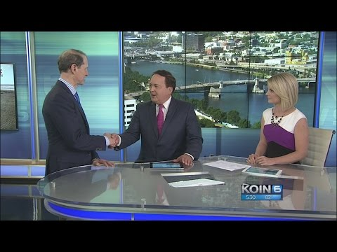 Senator Ron Wyden talks about the Trump administration on KOIN 6 News