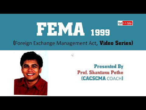 FEMA = Part 3 (Current Account Transactions)