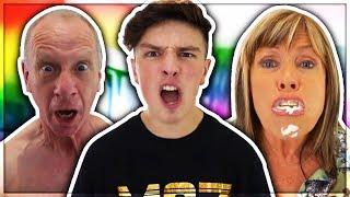 THE WORST FAMILY ON YOUTUBE (Morgz Reaction)