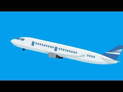 Kenapa Pesawat Bisa Terbang ? - Explainer Video #2 [Motion Graphic]