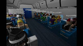 Pop'N Music on ROBLOX: RIE-chan as a Airline Pilot on World Travel Airlines