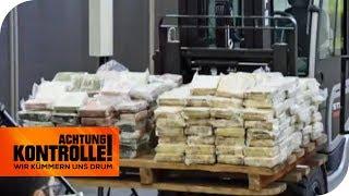 717KG Koks! Rekord-Drogenfund im Hamburger Hafen! | Achtung Kontrolle | kabel eins