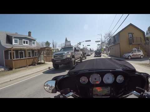 Harley Davidson FLHXS street glide 2014 Québec city ride