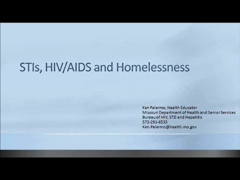 ICA Missouri: STI, HIV/AIDS and Homelessness