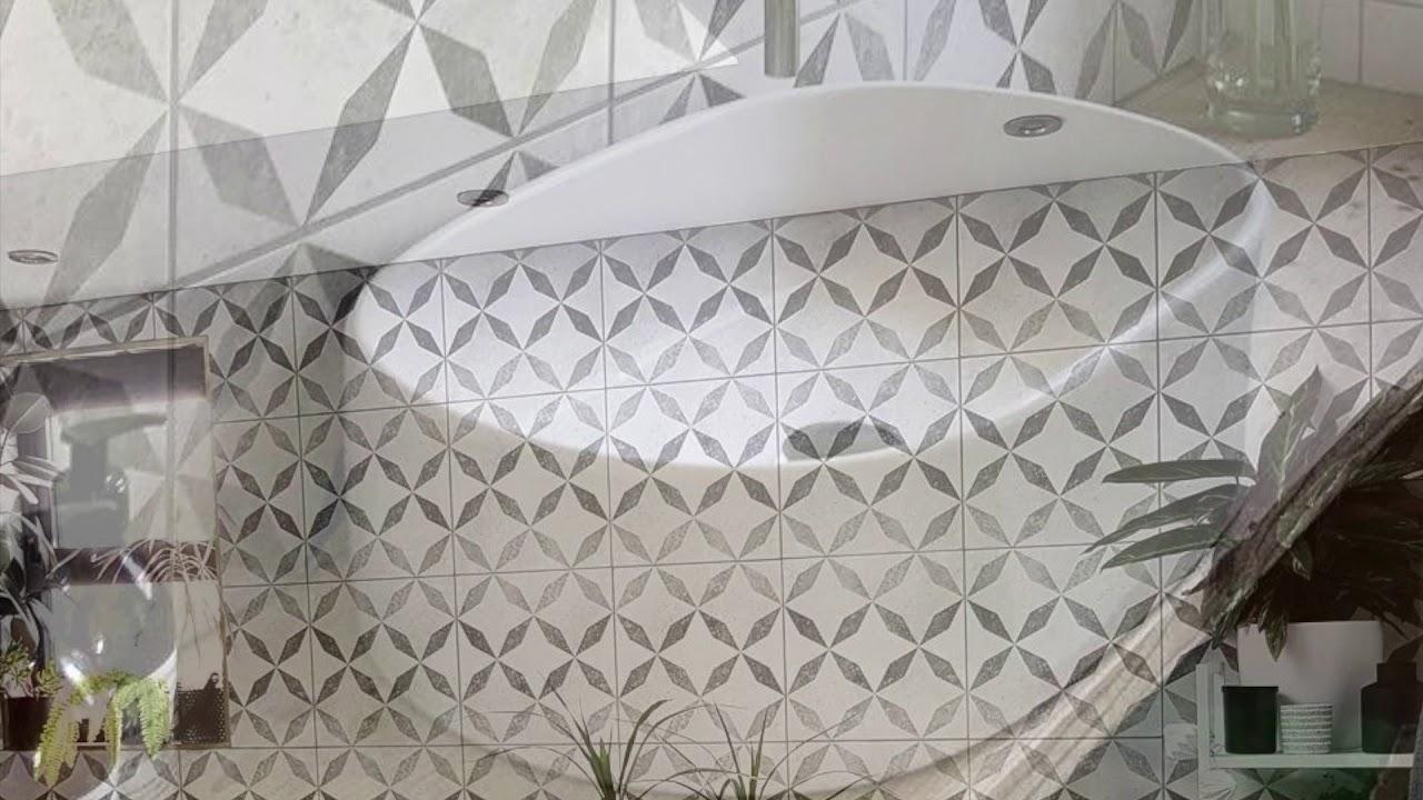 devon concrete tiles feature tiles tons of tiles youtube. Black Bedroom Furniture Sets. Home Design Ideas