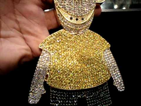 Mr Chris Da Jeweler Custom Gucci Mane Big Bart Simpson 10