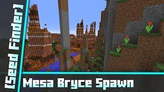 Mesa Bryce Spawn - All biomes around [Seed Finder] 062
