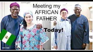 MEETING MY NIGERIAN FATHER FOR THE FIRST TIME IN 30 YEARS!  PART 1 Kenton & Habiba