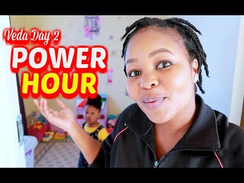 POWER HOUR CLEANING - Toddler playroom || Mommy and Baby Approved || South African Youtuber