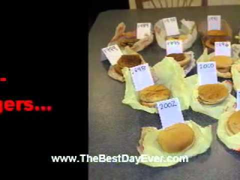 McDonalds GMO Burgers Live Forever