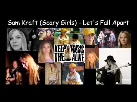 Indie Music By Sam Kraft Scary Girls  Let's Fall Apart