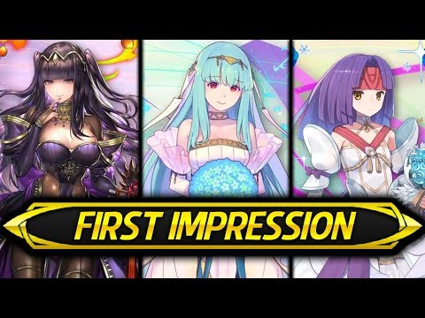 Fire Emblem Heroes - BRIDE NINIAN, THARJA & SANAKI! First Impression & Discussion! (Bridal Bloom)