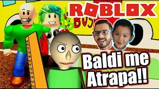 Bladi me Atrapa 2 | Escapa de Baldi´s Basic in Education | Juegos Roblox Karim Juega