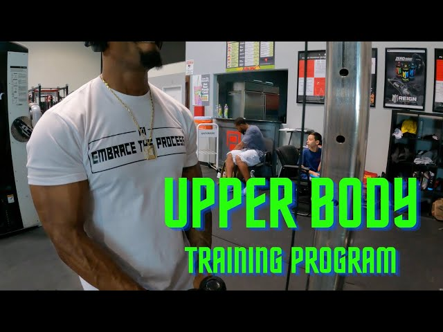 ABT- Athletic Based Training: Upper Body Training Program
