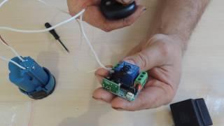Дистанционного Управления DC12V 10A 433 МГц Telecomando Передатчик с Приемником