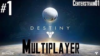 Destiny - Multiplayer Gameplay - Alpha - Part 1 (PS4) Hunter