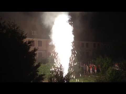 1.August Volcano Firework ( very Big)