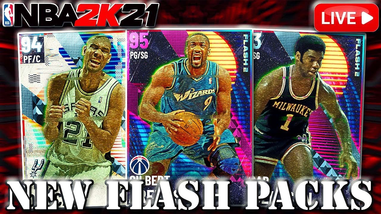 NEW FLASH PACKS! TTO + SNIPING! PACK OPENING?!? | NBA 2K21 MYTEAM LIVE STREAM