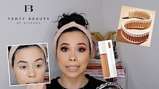 NEW FENTY BEAUTY CONCEALER REVIEW... OH, FENTY.