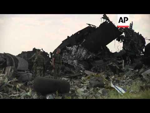 Pro-Russia separatists shot down a Ukrainian military transport plane Saturday, killing all 49 crew