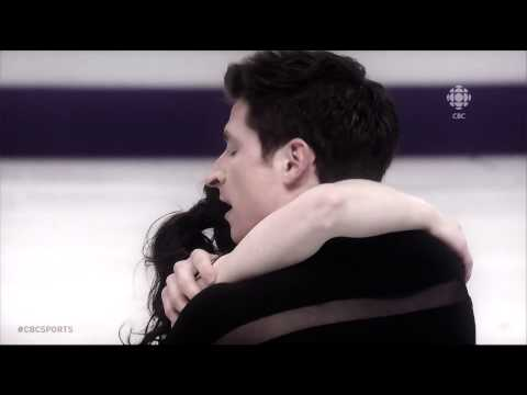 Tessa Virtue and Scott Moir - Can't help falling in love