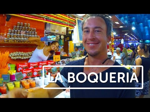 Rated the 'World's best Market!' - La Boqueria, Dan Style.