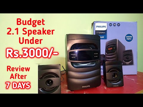 Philips MMS2625B/94 2.1 Bluetooth Speaker Review After 7 Days | Budget Home Theatre Under 3000 INR