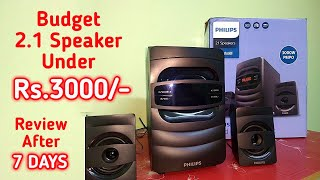 Philips MMS2625B 94 2 1 Bluetooth Speaker Review After 7 Days Budget Home Theatre Under 3000 INR