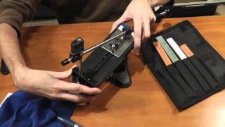 Version 2 Best Value Professional Fixed Angle Knife Sharpener System!