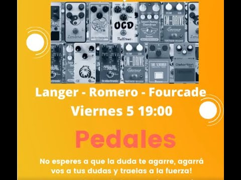 Charla Pedales - Tery Langer + Alejandro Fourcade + Carlos Maidana (Parte 1)