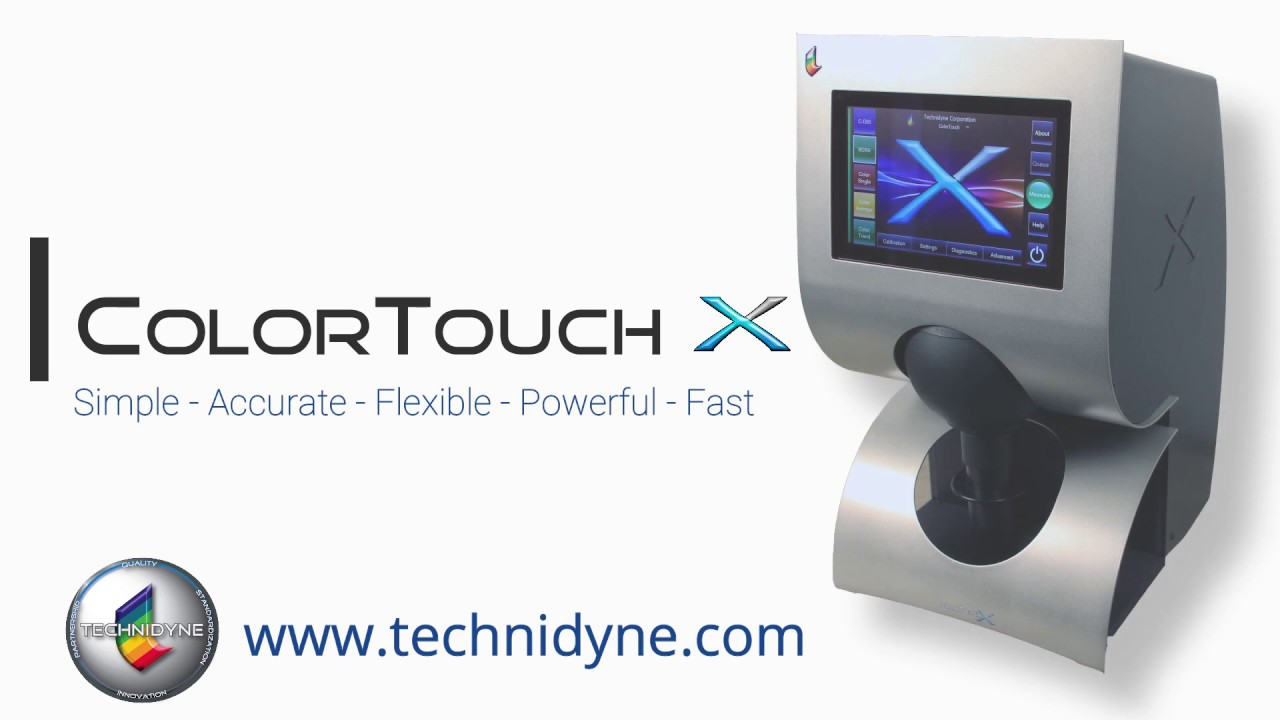 Flexibility makes the Color Touch X a must for any paper testing lab