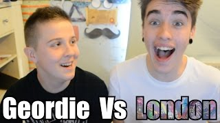 One of CharlieVlogs's most viewed videos: GEORDIE VS LONDON SLANG FT. xMLAD