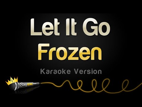 Frozen  Let It Go Idina Menzel Karaoke Version