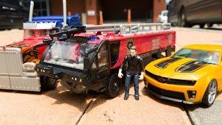 Transformers Sentinel Prime Optimus Prime Bumblebee Car Toys 트랜스포머 센티넬프라임 옵티머스프라임 범블비 자동차 장난감 변신 동영상