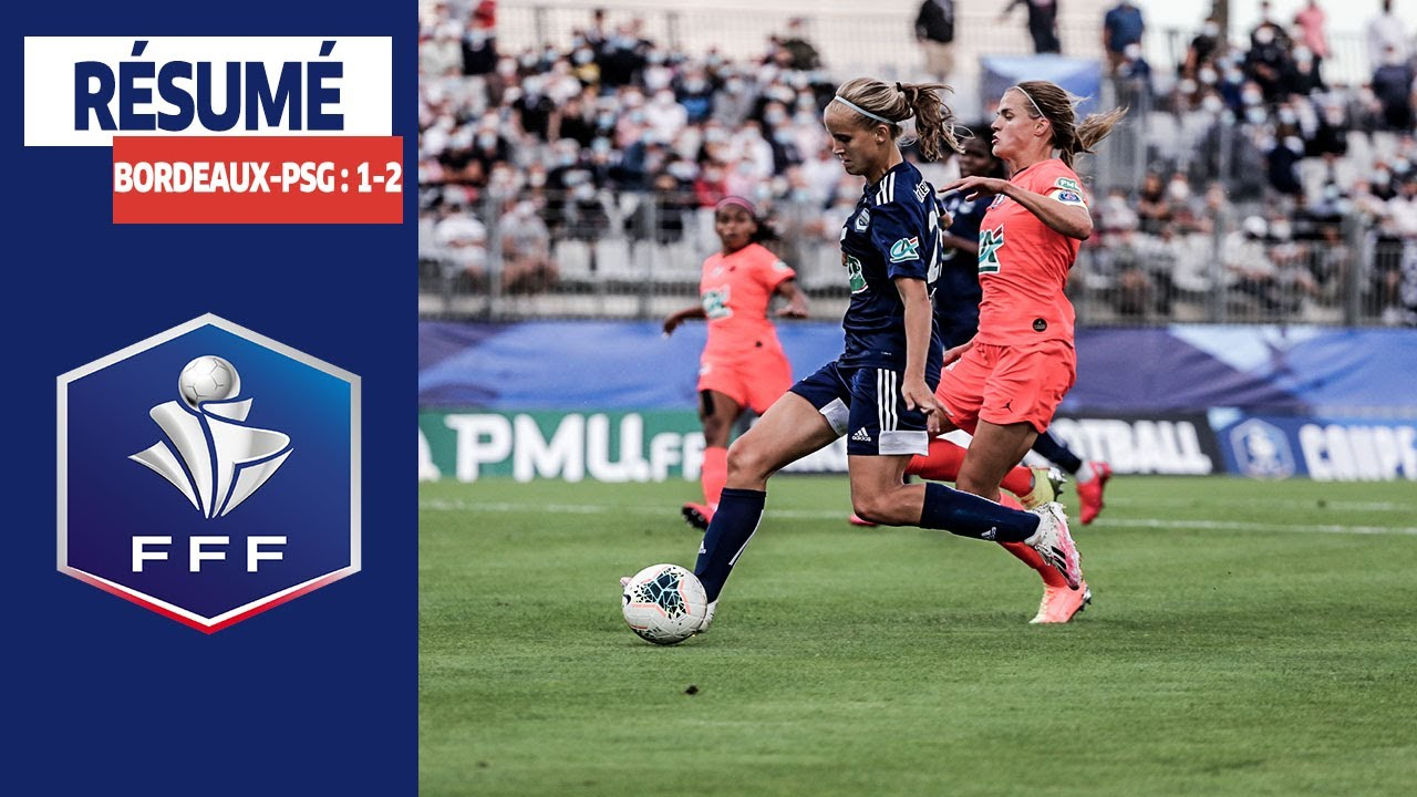 Coupe de France Féminine, 1/2 finales : Bordeaux - Paris-SG (1-2), le résumé