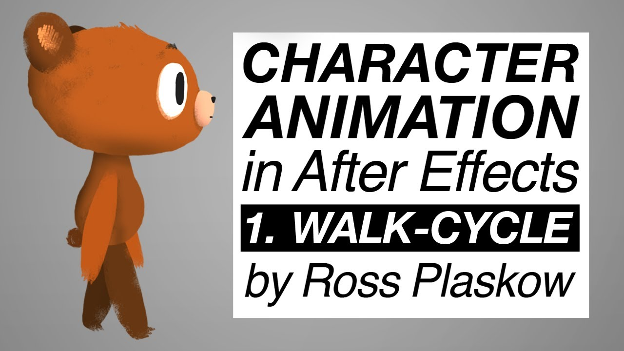 How To Make A Cartoon  Character Animation  After Effects Tutorial [basic  Walkcycle]