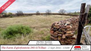 Ubique Auction of The Farm ZyferFontein 293 (1713 ha)
