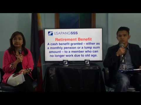 SSS Retirement Benefit / Pension Computation I Public Servic