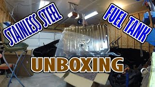 Stainless Steel gas tank | 1969 Oldsmobile Cutlass Muscle Car | Product Unboxing | EP. 2