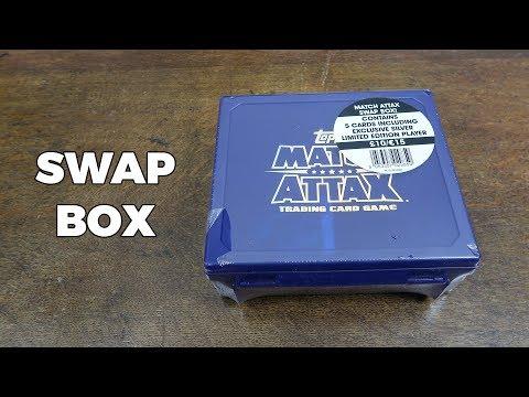 SWAP BOX OPENING! Match Attax 2017/18