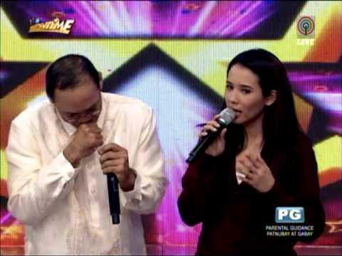 PNoy look-alike intimidates 'Showtime' hosts