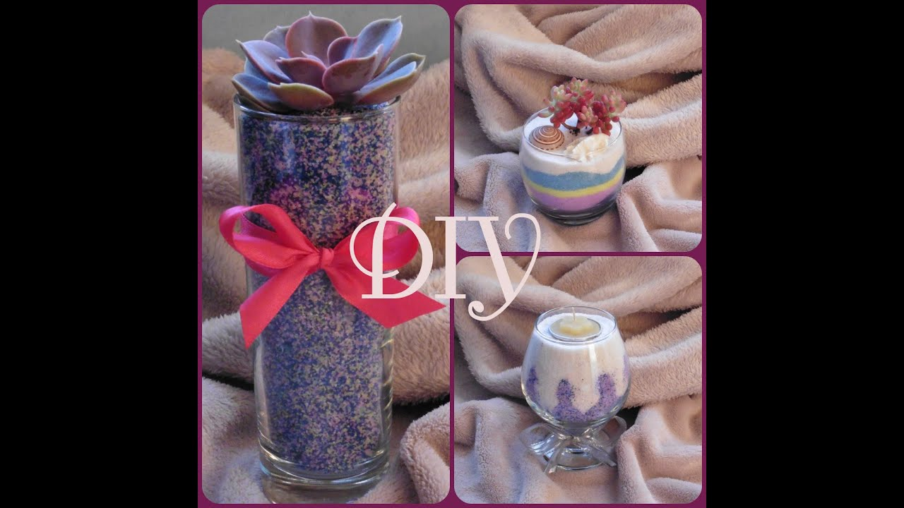 Diy n 1 plantes et bougies d coratives youtube for Les plantes decoratives