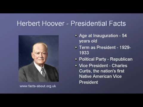 President Herbert Hoover Biography