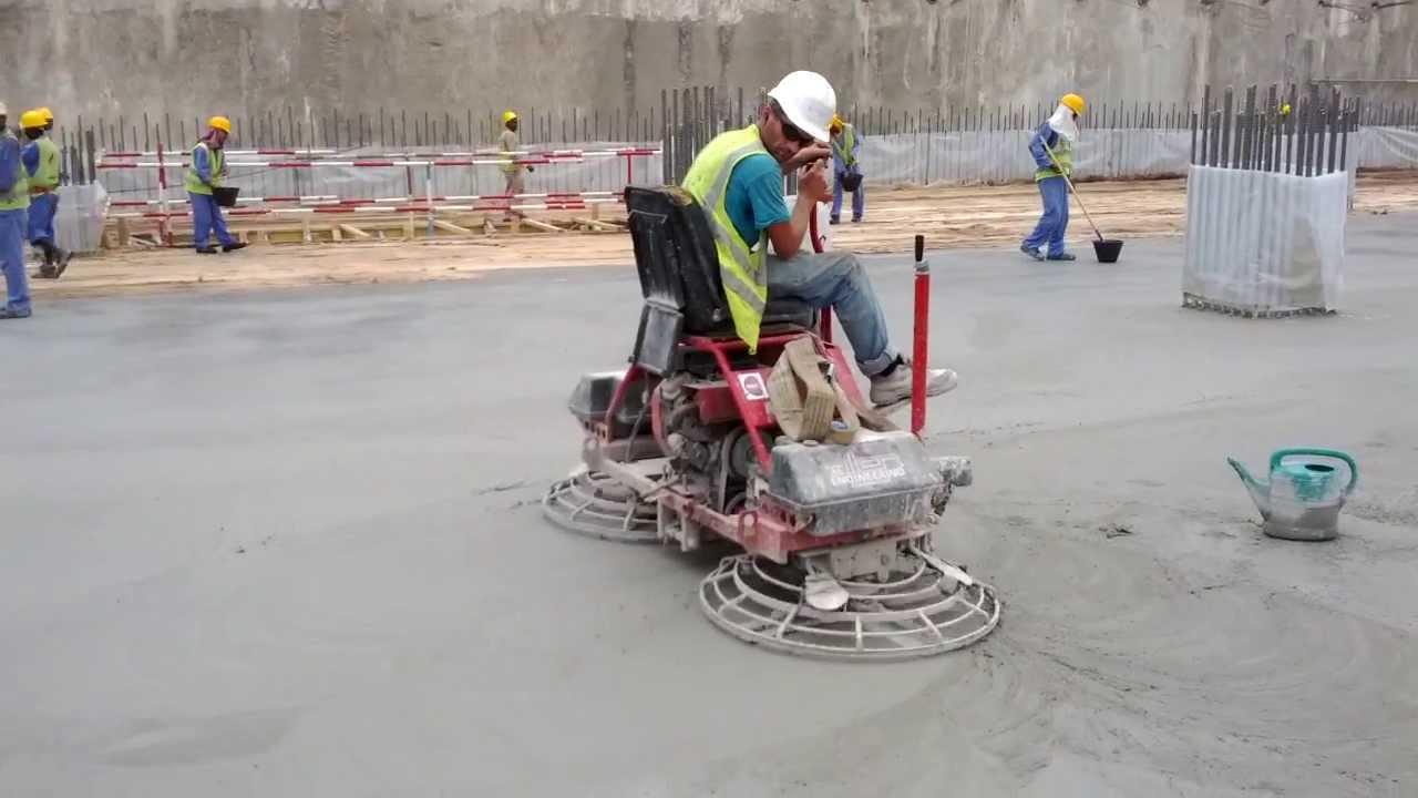 machine for concrete