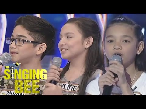 Kapamilya child stars battle | Singing Bee