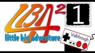 Little Big Adventure 2 (RUS) walkthrough part 1