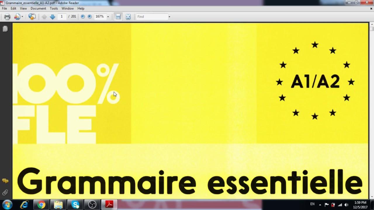 Telecharger Les Livres Les Plus Utiles A La Grammaire Francaise