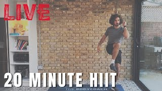 Live HIIT Workout with The Body Coach