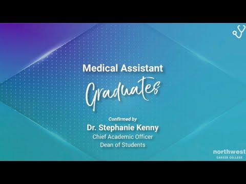 Northwest Career College - Medical Assistant Graduates April 2021
