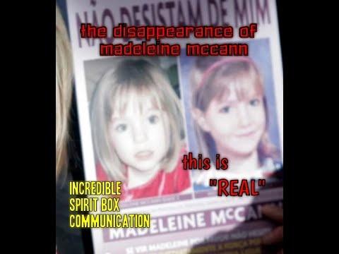 """YOU REALLY MUST LISTEN TO THIS -  Madeleine McCann Spirit Box Captures Jan 2020"